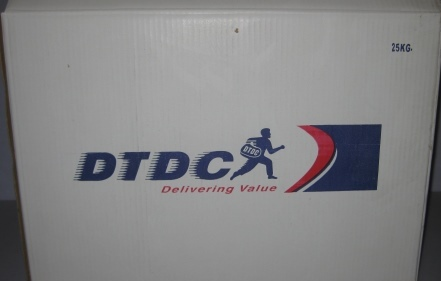 DTDC Branded Brown Box 25 Kg Capacity