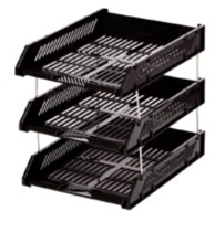 Triple Documents Tray