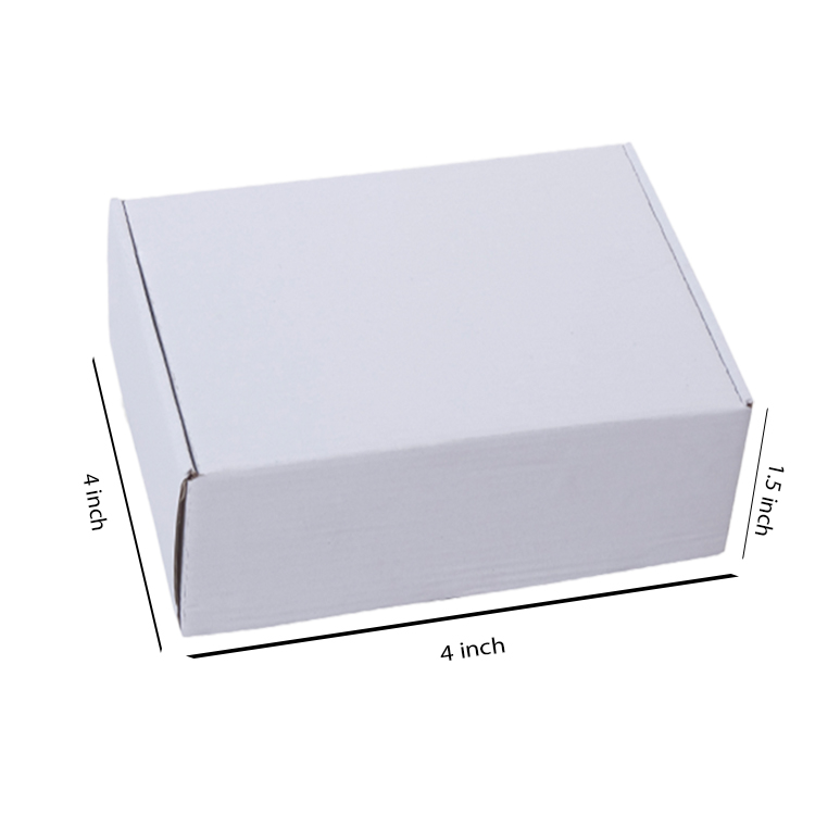Primo White Flat Box, 3Ply, (4