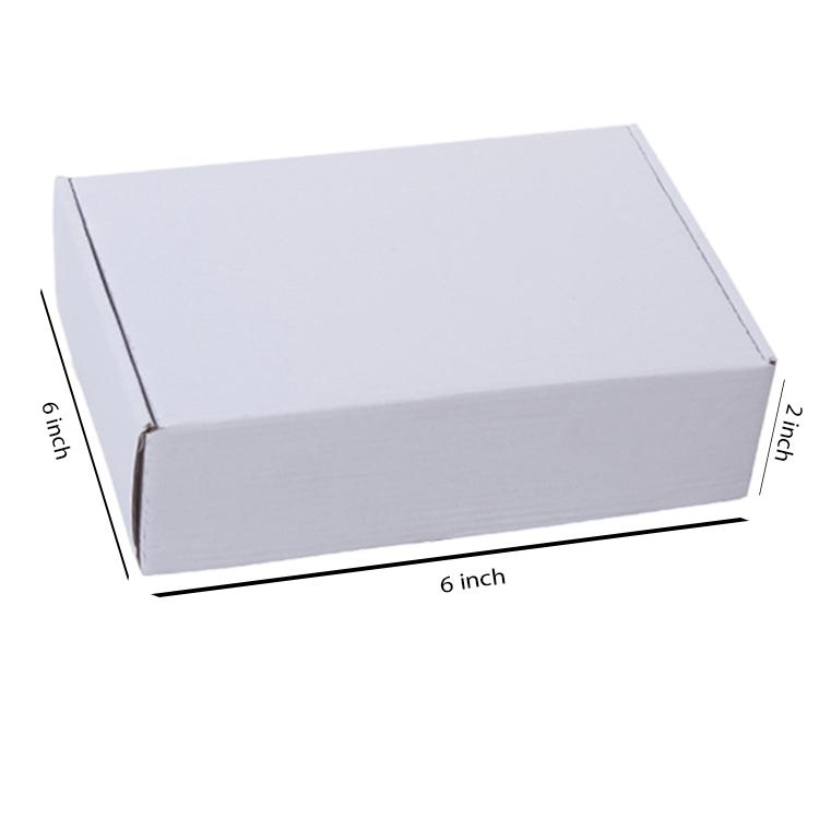 Primo White Flat Box, 3Ply, (6
