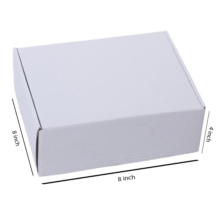 Primo White Flat Box, 3Ply, (8