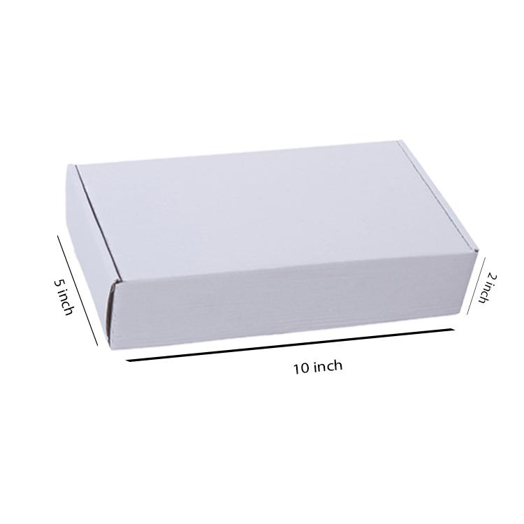 White Flat Box, 3Ply, (10