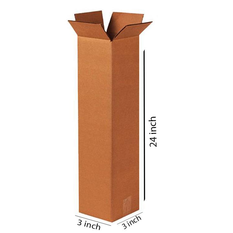 Long Square Box, 3Ply, (3