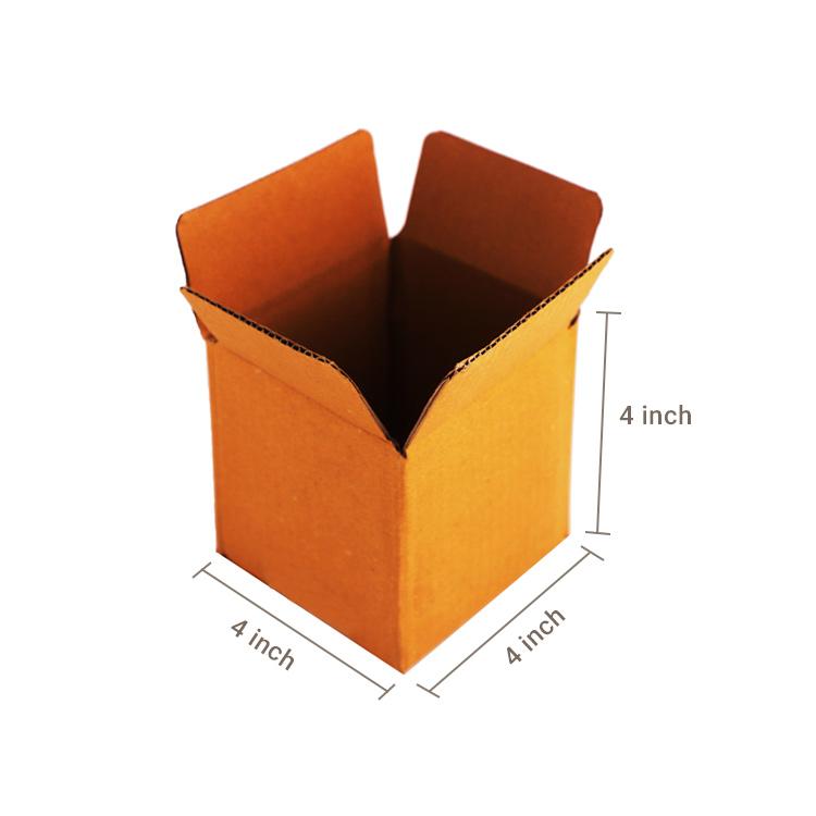 Primo Brown Cube Box, 3Ply, (4