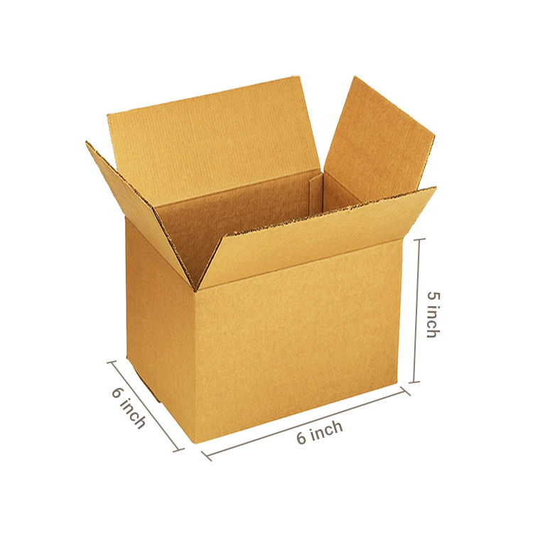 Primo Brown Cube Box, 3Ply, (6