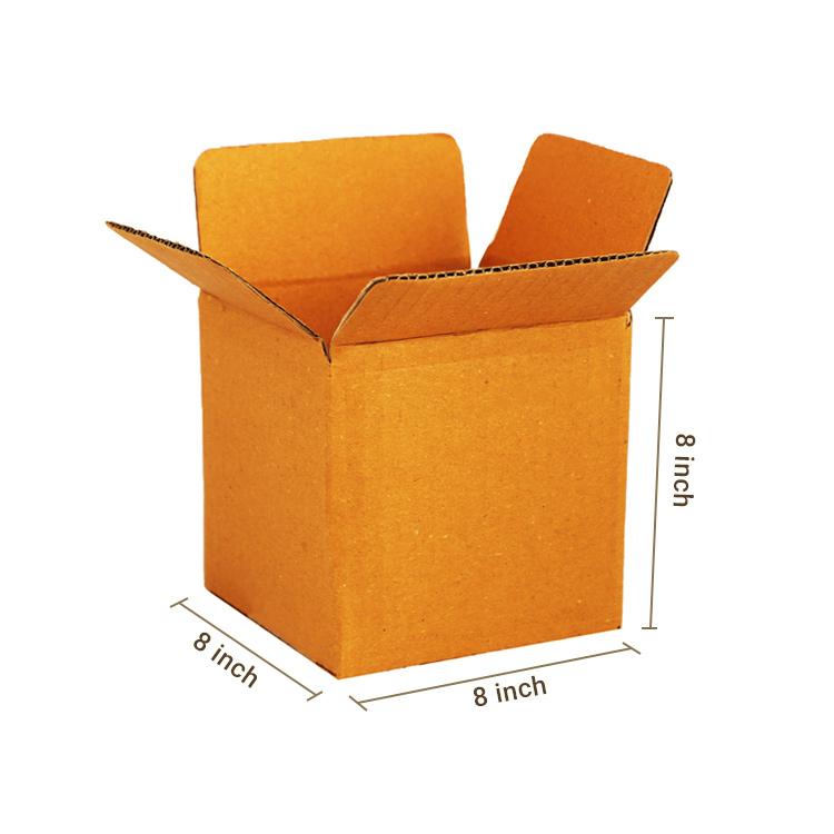 Primo Brown Cube Box, 3Ply, (8