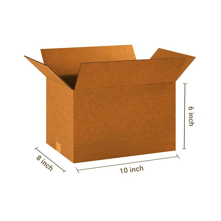Primo Brown Cube Box, 3Ply, (10