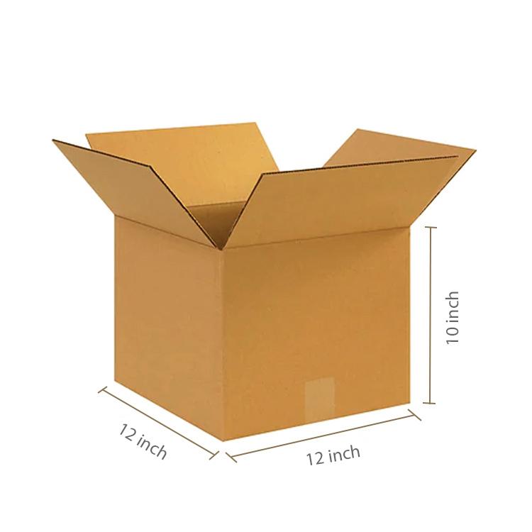 Primo Brown Cube Box, 3Ply, (12