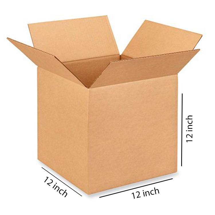 Brown Cube Box, 5Ply, (12