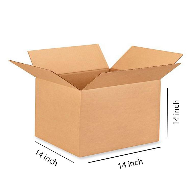 Brown Cube Box, 5Ply, (14