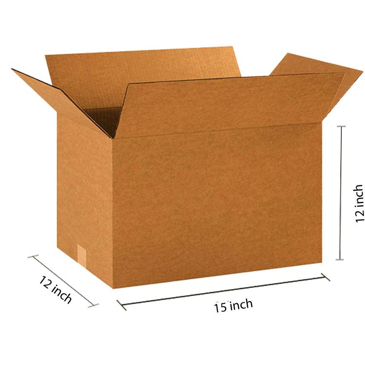 Primo Brown Cube Box, 5Ply, (15