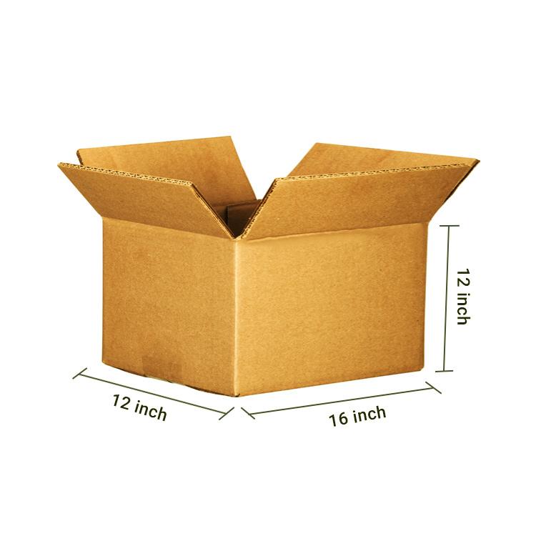 Primo Brown Cube Box, 5Ply, (16