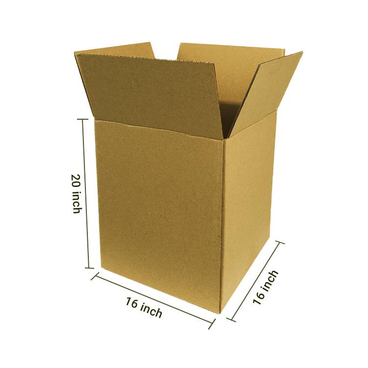 Brown Cube Box, 5Ply, (16