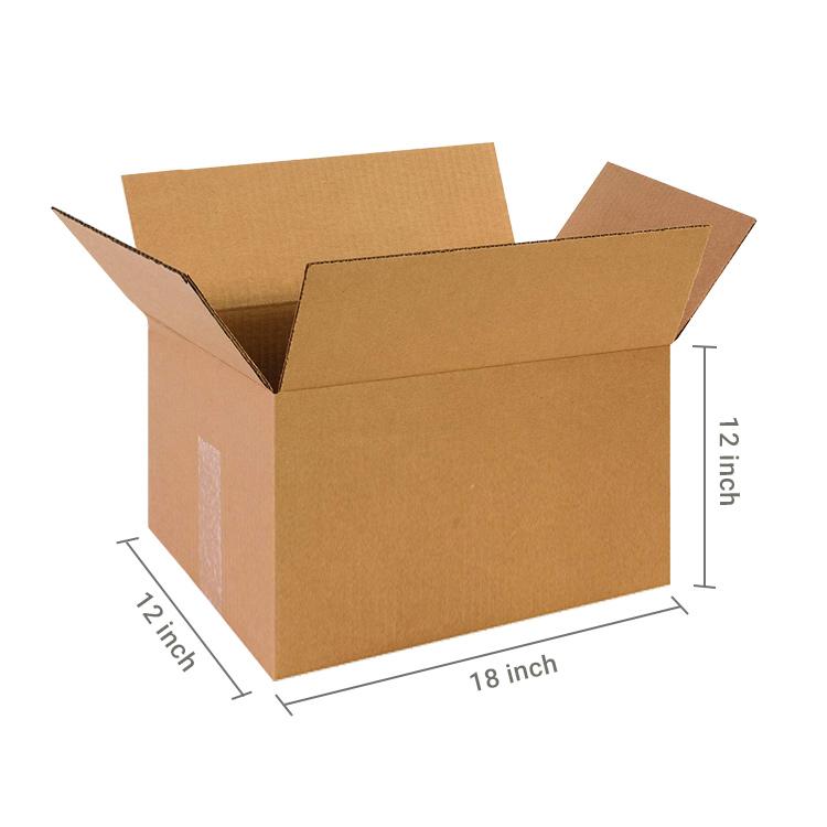 Brown Cube Box, 5Ply, (18