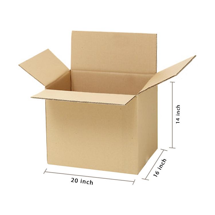 Primo Brown Cube Box, 5Ply, (20