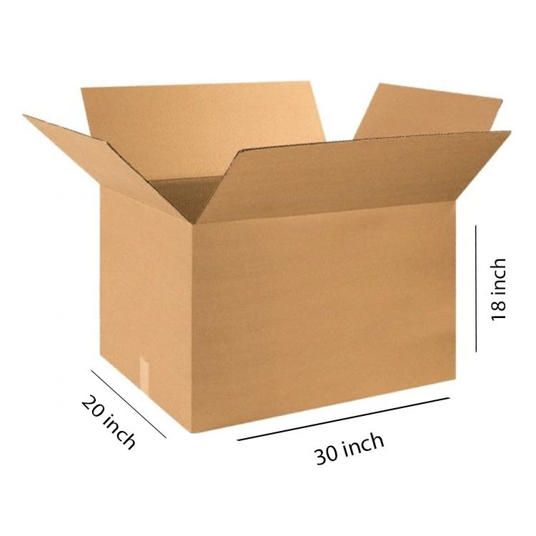 Primo Brown Cube Box, 5Ply, (30