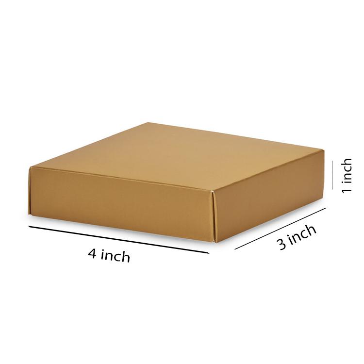 Primo Brown Flat Box, 3Ply, (4