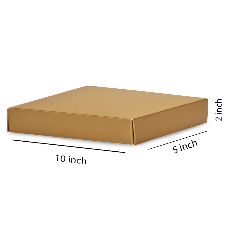 Primo Brown Flat Box, 3Ply, (10