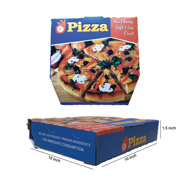 Printed Pizza Box , 3 Ply, (10