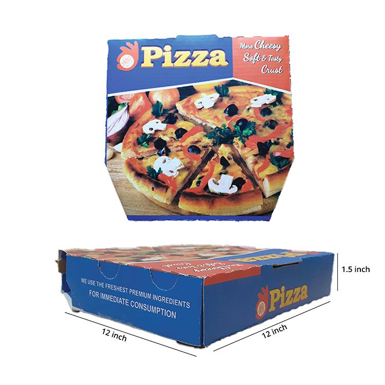 Printed Pizza box , 3 Ply, (12
