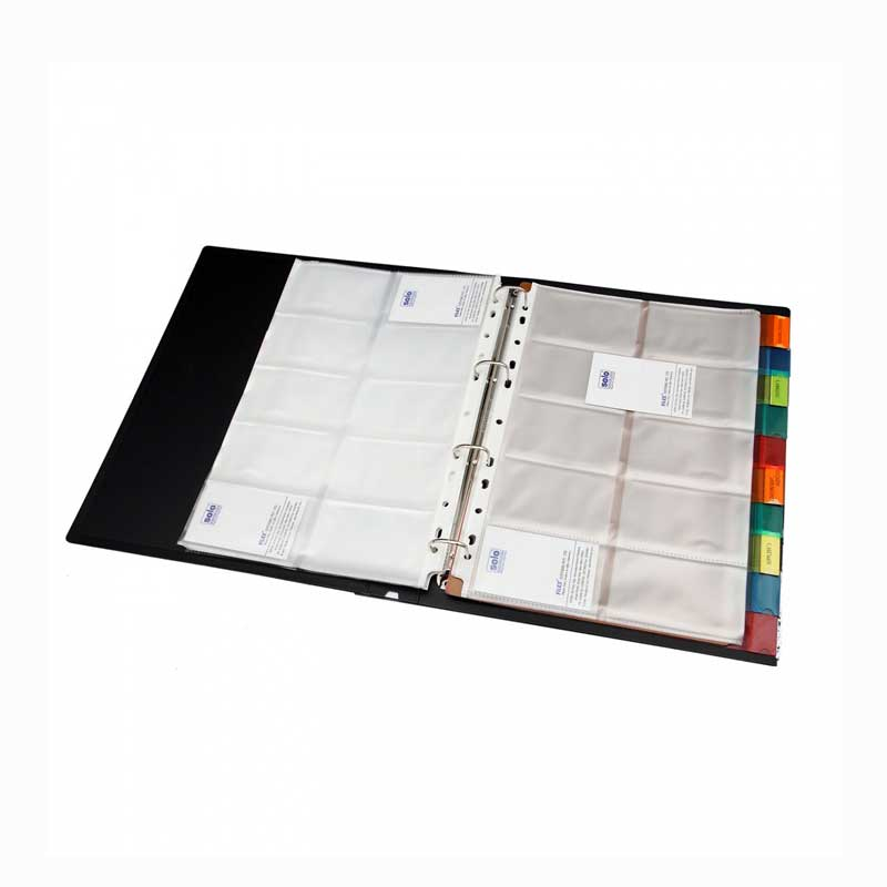 Business Card Holder with Indexes- 500 Cards