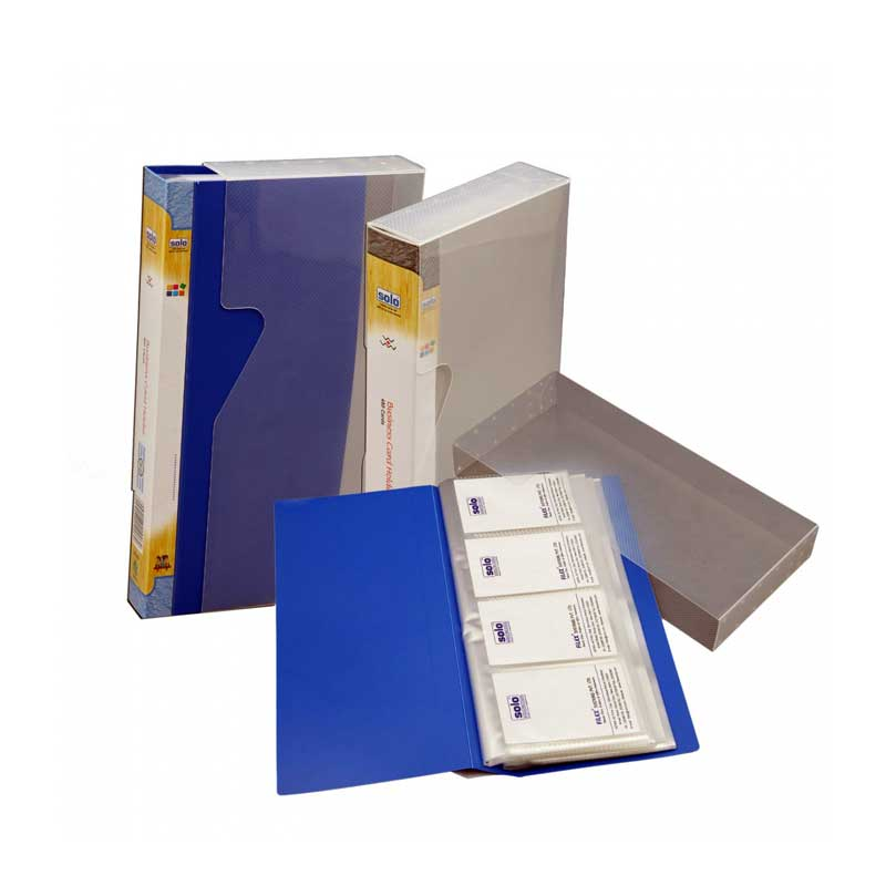 Business Card Holder in a Case- 480 Cards
