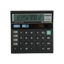 Calculator Black 512