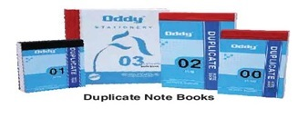 Duplicate Note Book 1/6 in 100 Sets