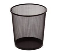 Small Mesh Dust Bin, Pack of 2