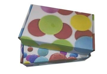 Festive Colourful Box, 3Ply