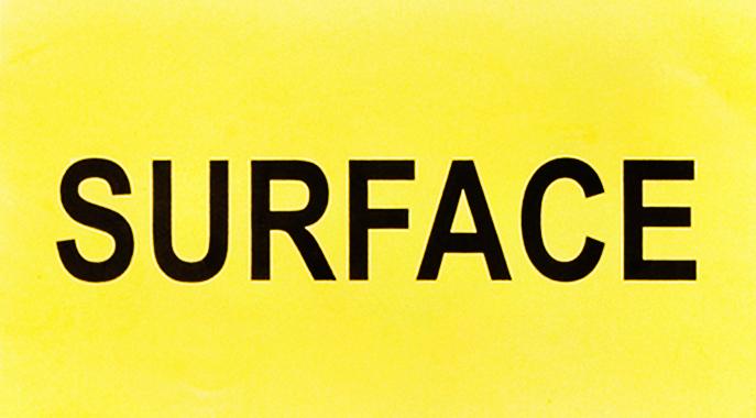 Surface Sticker