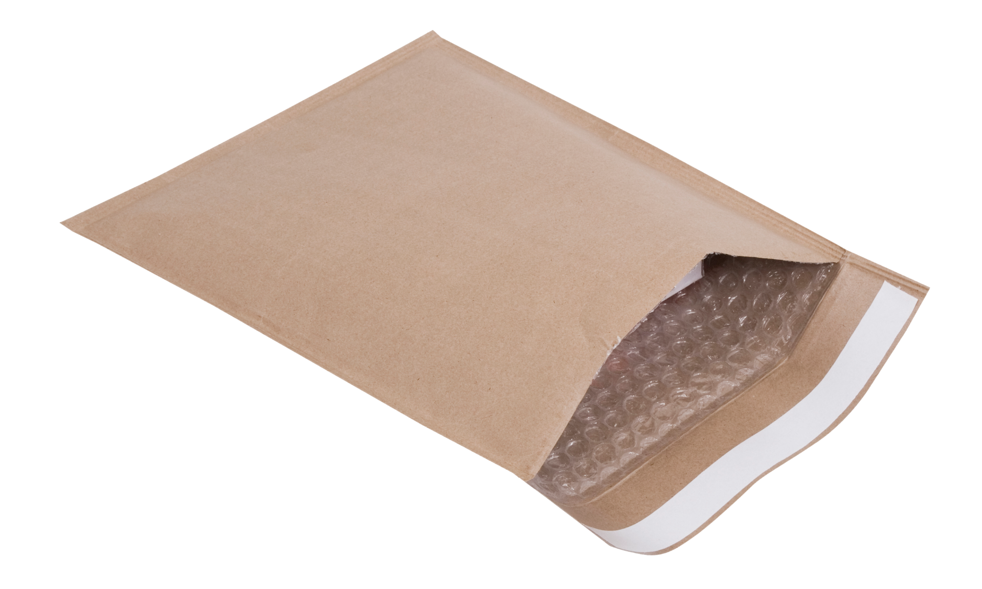Brown Ziffy Bag, 50 GSM, Pack of 100