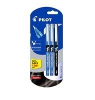 Pilot V7 Liquid Ink Roller Ball Pen- 2 Blue + 1 Black