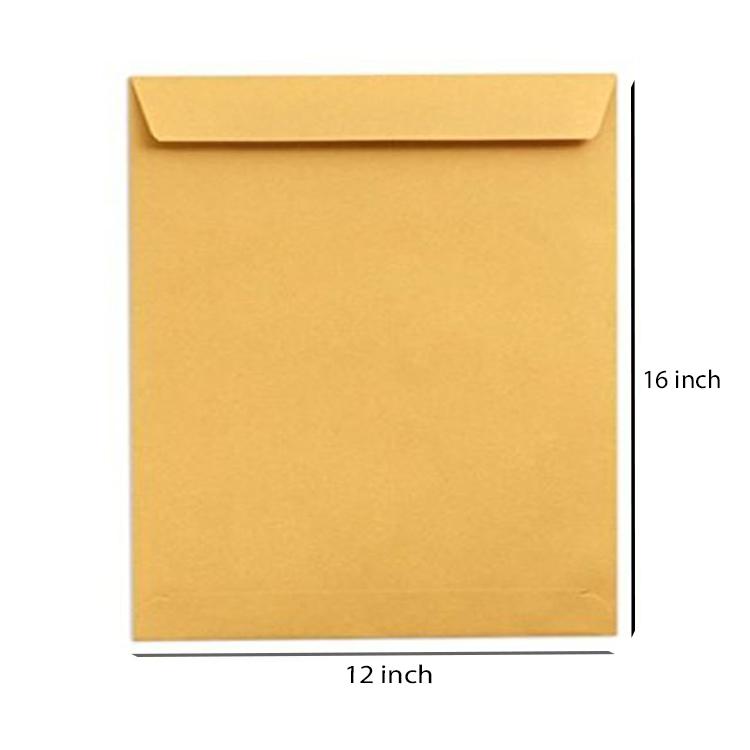 Yellow Paper Envelope, 80GSM