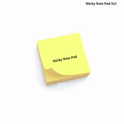 Re-Stick Paper Notes- Yellow