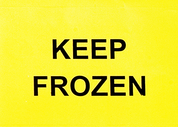 Keep Frozen Sticker