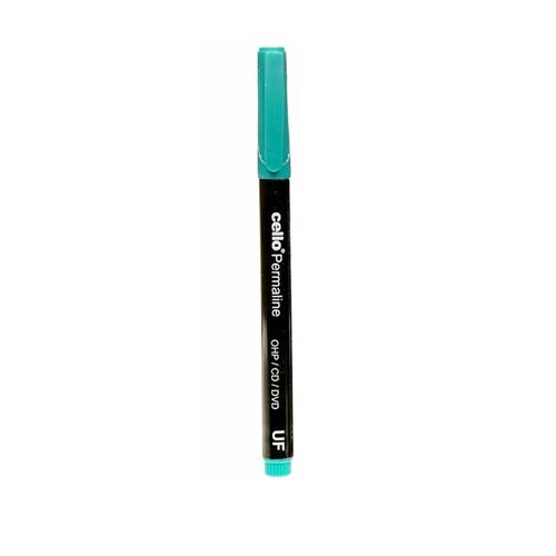 Permaline CD Marker Pen - Green, Pack of 10