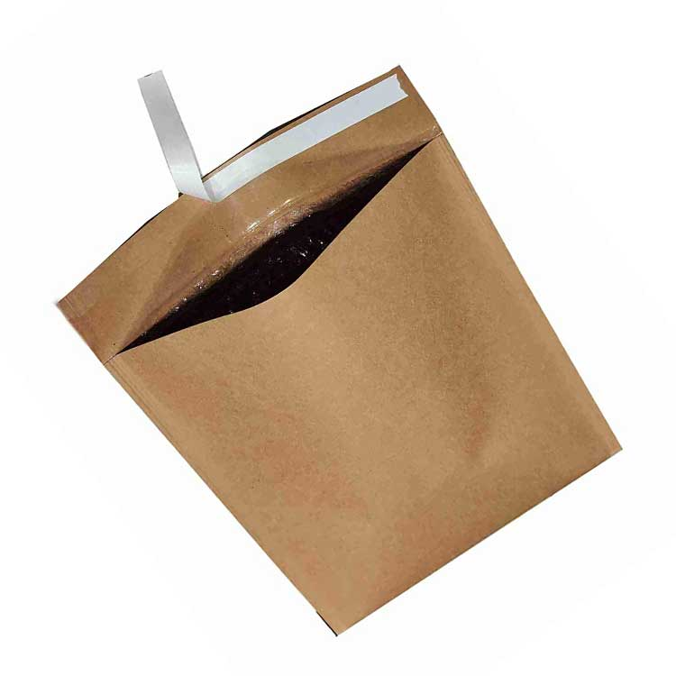 Tamper Proof Paper Courier Bags -Brown , 40 BF, 2