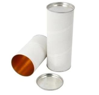 Paper Tube With Tin Cap, 1.5MM, Pack of 100