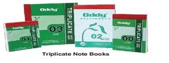 Triplicate Note Book 1/8 in 50 Sets