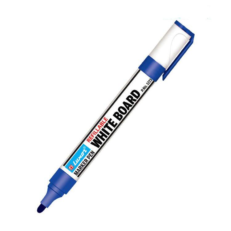 Luxor White Board Marker Pens, Blue