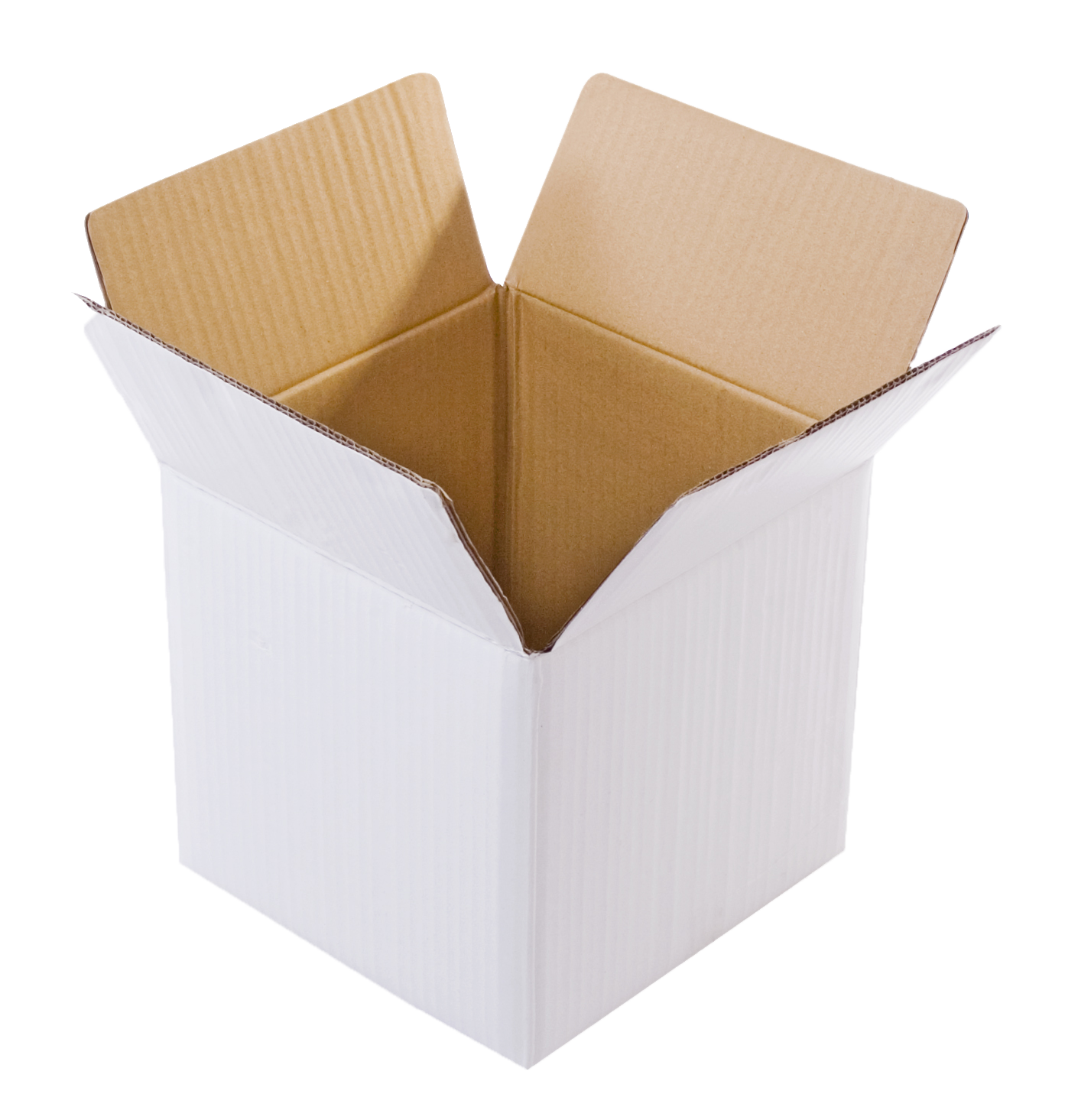 White Small Cube Box, 3Ply, (9