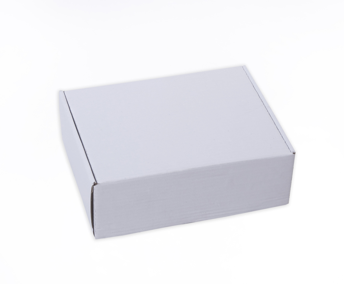 White Flat Box, 3Ply