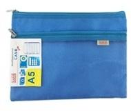 Dual Zip Bag - A5